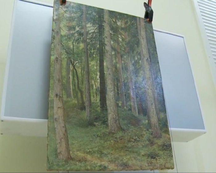 СКинициировал возвращение в Российскую Федерацию картины Шишкина, похищенной измузея