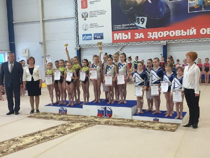 Гимнастки изВладимирской области стали чемпионками главенства ЦФО РФ