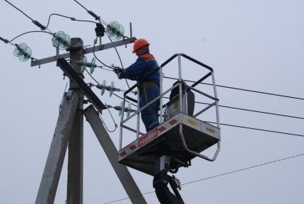 ВЦентральной Российской Федерации 68 населенных пунктов остались без электричества