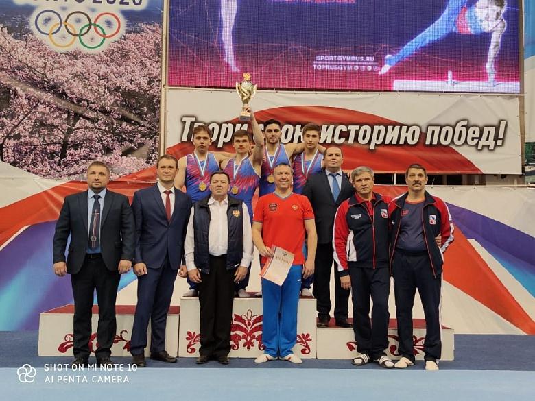Владимирские гимнасты показали высочайшие результаты на Чемпионате России